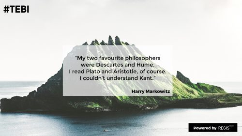 Harry Markowitz about his favourite philosophers
