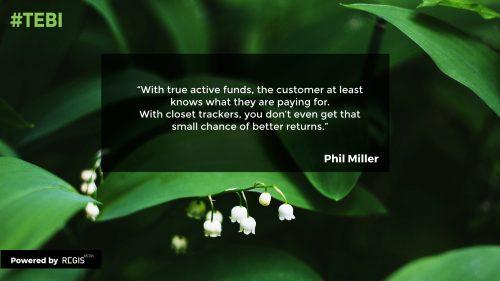 active funds versus closet trackers