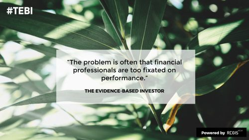 TEBI on the problem of investing with bonds