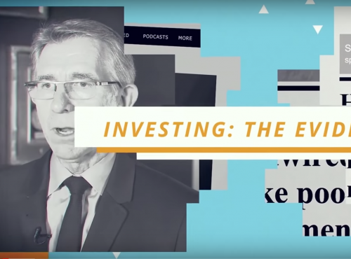 US version of Investing: The Evidence released