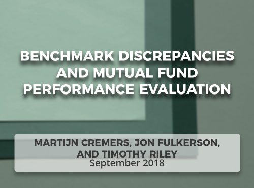 Benchmark Discrepancies and Mutual Fund Performance Evaluation