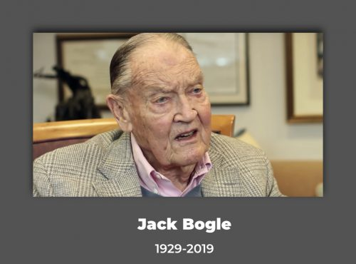 My personal debt of gratitude to Jack Bogle