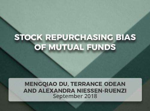 Stock Repurchasing Bias of Mutual Funds