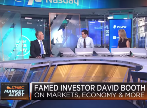 David Booth on AK47s and the inverted yield curve