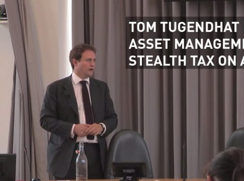 Tugendhat: Asset management fees are a stealth tax on all of us