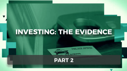 Investing: The Evidence Part 2: Passive Investing