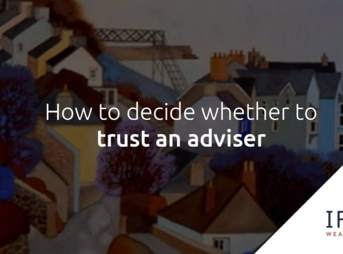 How do you know if you can trust your adviser?